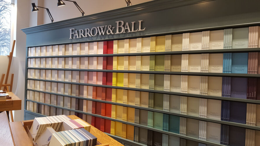 FARROW & BALL <br/>LYON <br/>PARIS <br/>SAINT GERMAIN EN LAYE BHV