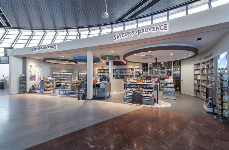 BOUTIQUE GOURMET <br/>NICE AIRPORT <br/>COTE D'AZUR