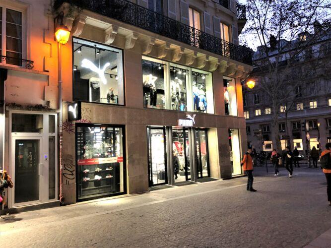 PUMA <br/>PARIS <br/>BOULEVARD DE SEBASTOPOL