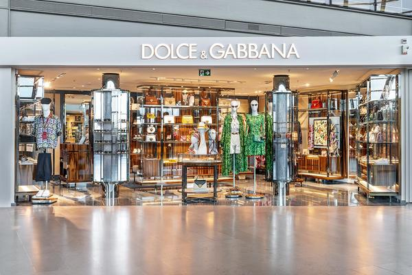 DOLCE & GABBANA <br/>NICE AIRPORT <br/>COTE D'AZUR